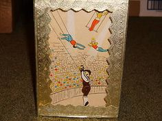 Vintage Automaton Sand Powered Shadowbox Toy Automata Shackman Circus Trapeze