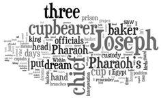 Genesis 40 (NIV) - The Bible in Wordle Form