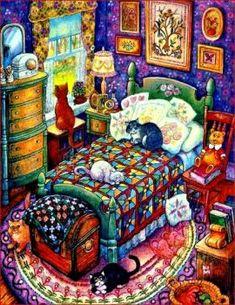 Cat Naps (130 pieces)