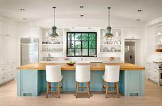 Farmhouse Kitchen by Dillon Kyle Architecture