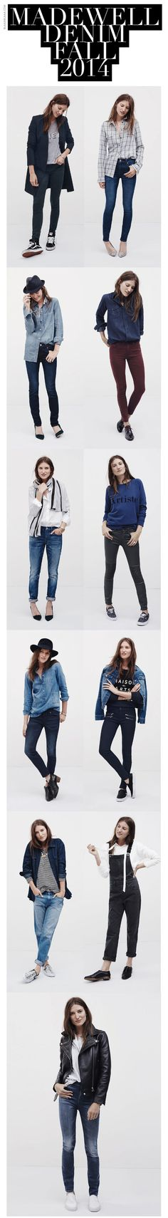 Madewell Denim Fall 2014