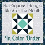 In Color Order: HST Block of the Month: February