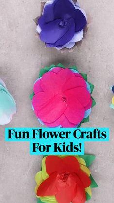 Diy Crafts To Do, Diy Crafts Hacks, Fun Crafts For Kids, Craft Activities For Kids, Diy Arts And Crafts, Cute Crafts, Toddler Crafts, Preschool Crafts, Diy For Kids