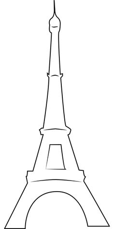 Image gratuite sur Pixabay - Tour Eiffel, Paris Free image on Pixabay - Eiffel Tower, Paris Eiffel Tower Drawing, Eiffel Tower Painting, Paris Party, Paris Theme, Disney Symbol, Tour Effel, Paris Kunst, Art Parisien, Paris Tour