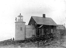 ***~Tenants Harbor Light  aka Southern Island Light 1857  St. George, Maine  Privately owned since 1978 by Andrew and Jamie Wyeth. Light has been inactive since 1933