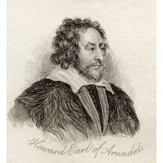 Thomas Howard 2Nd (Or 14Th) Earl Of Arundel Earl Of Surrey Earl Of Norfolk 1585-1646 English Noble And Courtier Noted For His Collection Of Marbles And Manuscripts From The Book Crabbs Historical Dict
