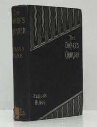 """The Dwarf's Chamber, by Fergus Hume..   London, Ward Lock. 1896, First edition.. Publisher's black cloth title in gilt to spine and decorated in white and red to front board.. Internally clean and fresh.. Inscribed by Fergus Hume to the front flyleaf: 'With Kindest Regards, Fergus Hume, 13 xi 96""""  Listed by Adrian Harrington Rare Books..  #firstedition #signed"""