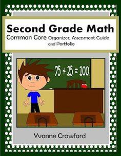 Common Core Classrooms: Common Core Organizer for Second Grade