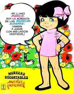 """""""Marilo """" THE CHEERFUL DOLLS Las Muñecas Alegre de María Pascual"""