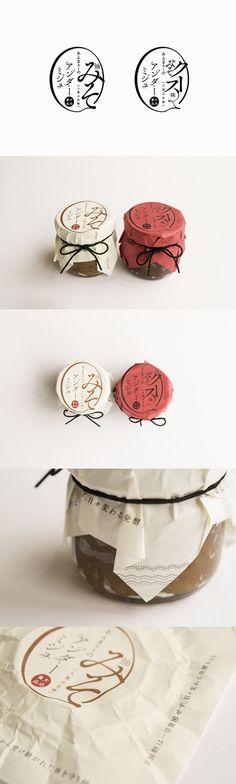 油味噌 - atsushi_honda Yogurt Packaging, Rice Packaging, Food Packaging Design, Bottle Packaging, Packaging Design Inspiration, Brand Packaging, Japan Dessert, Japanese Packaging, Food Design