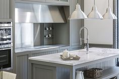 Neolith porcelain surfaces bring style and durability to the modern kitchen island