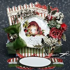 Gina's Cards: New Challenge at Marvelous Magnolia - The Day Before Christmas
