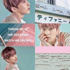 #xiumin #exo #pink #blue #aesthetic #pastel #aestheticpastel #kpop
