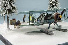 Winter War Gladiator (Airfix 1/72)