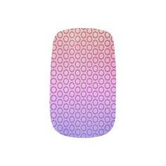 Scrolled Frames Pattern Minx Nail Art  $18.95  by MuralsandMoreGallery  - custom gift idea
