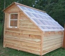 Slope Roof Greenhouse