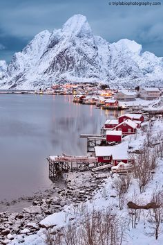 Beautiful Places To Travel, Wonderful Places, Lofoten Islands Norway, Norway Travel, Winter Scenery, Winter Pictures, Travel Aesthetic, Travel Around The World, Beautiful Landscapes