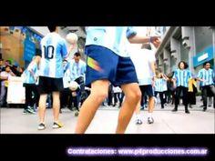 Flashmob Freestyle Fútbol