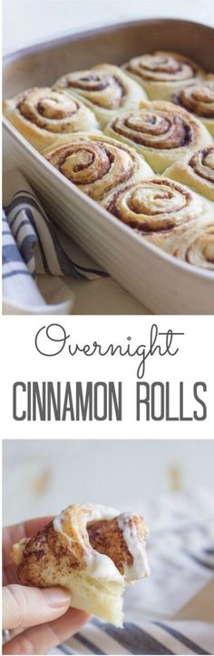 Overnight Cinnamon Rolls Recipe #Food #Drink #Trusper #Tip