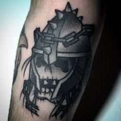 #tattoo #skulltattoo #warzone