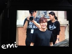 Lee Min Ho in Thailand for Bounty Hunters filming, 20151128.