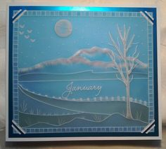 Clarity Stamps Groovi starter kit on parchment coloured with Promarkers - by Lynne Lee