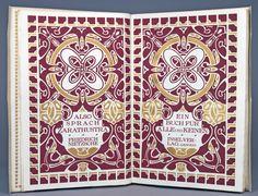 Henry Van de Velde, Friedrich Nietzsche, 1908. Insel-Verlag | Hesse-Auktionen
