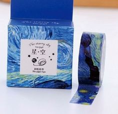 The Starry Night Sky  Paper Washi Tape by PlayingWithColor2