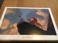 #Disney the lion king #commemorative lithograph in original #envelope ,  View more on the LINK: 	http://www.zeppy.io/product/gb/2/142246780080/