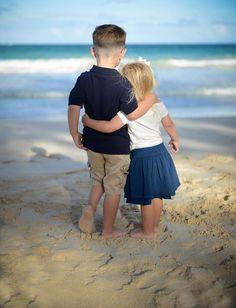 Siblings At the beach!