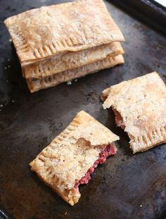 Homemade Whole Grain Pop Tarts + Easy Strawberry Jam | Hellobee