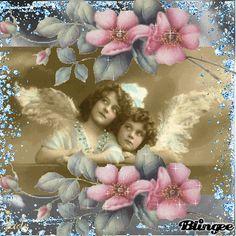 vintage angels anjos ange angelic