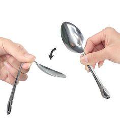 Magic Trick Bend Spoon Gimmick Gadget for Close-up Magic