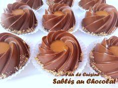 Sablés au chocolat /Nestlé caramélisé صابلي تاج