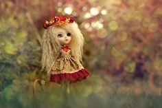 Pullip Blythe vestido conjunto ecos de otoño por DollyBoutiquee