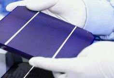 """Natcore Technology scientists have created a black silicon solar cell with an average reflectance of 0.3%, making it the """"blackest"""" solar cell ever designed. Compared to the most efficient solar cells currently on the market, Natcore's development offers a tenfold decrease in reflectance over the solar spectrum. The result is an increase in energy efficiency that could help solar power compete even more effectively with traditional fossil fuels."""