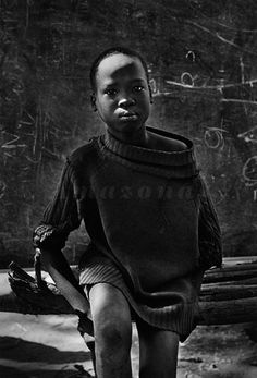 School at Natinga camp for displaced Sudanese. Southern Sudan . 1995