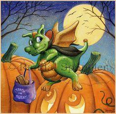 Dracula Dragon by Randal Spangler ~ Halloween