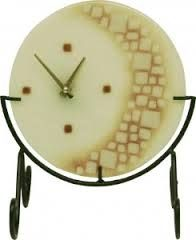 fused glass clock - Google Search