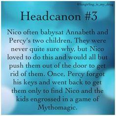 headcanon percy jackson - Google Search
