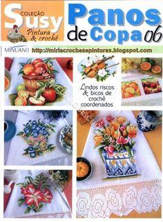 SUSY panos de copa n6 - M Andrade - Picasa Web Albums... FREE BOOK!