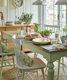 Find sophisticated detail in every Laura Ashley collection - home furnishings, children's room decor, and women, girls & men's fashion. Home Interior Design, Interior Decorating, Decorating Ideas, Interior Paint, Design Case, Country Kitchen, Country Homes, Home Collections, Country Decor
