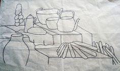 Pintura em Tecido Passo a Passo: PINTURA EM TECIDO FOGÃO A LENHA
