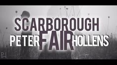 Scarborough Fair - Peter Hollens & Album News!//One of my all-time favorite singers singing my all-time favorite song.