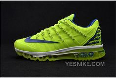 big sale c9847 7958a Buy Nike Air Max 2016 Ii Sneakers Nano Tpu Material Fluorescent Green Blue Mens  Running Shoes New Release from Reliable Nike Air Max 2016 Ii Sneakers Nano  ...