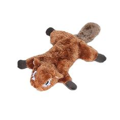 The Flying Squirrel Dog Toy does double duty as a fun squeaky dog toy and also as a comfy pillow for naptime! Lightly stuffed for soft chewers. Added Blaster squeaker inside provides hours of squeaky fun! Online Pet Supplies, Dog Supplies, Best Dog Toys, Flying Squirrel, Brown Dog, Service Dogs, Pet Store, Dog Accessories, I Love Dogs