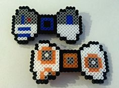 Star Wars Perler Hair Bows by Quite8bitMad