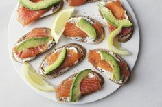 Salmon and Avocado Toasts -Don't forget to check out our Pin To Win for Halloween contest on Facebook