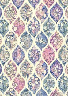 Pictures of vintage pattern wallpaper iphone - Pattern Texture, Surface Pattern Design, Cute Wallpapers, Wallpaper Backgrounds, Floral Backgrounds, Iphone Wallpapers, Textures Patterns, Print Patterns, Papier Paint