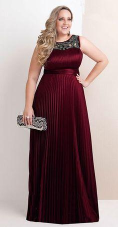 Vestido de Madrinha Plus Size 1